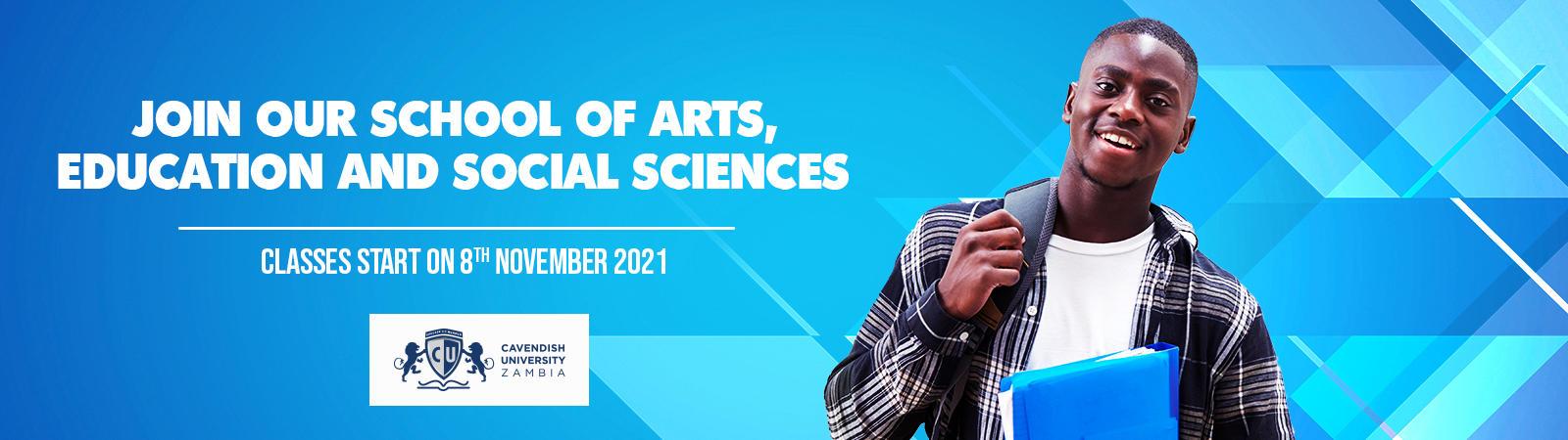 School of Arts, Education and Social Sciences