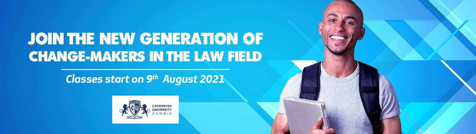 Study Law In Cavendish University